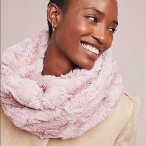 NWT Anthropologie Faux Fur Infinity Scarf